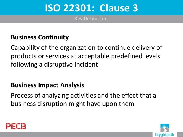 Assessing The Impact Of A Disruption Building An Effective Business