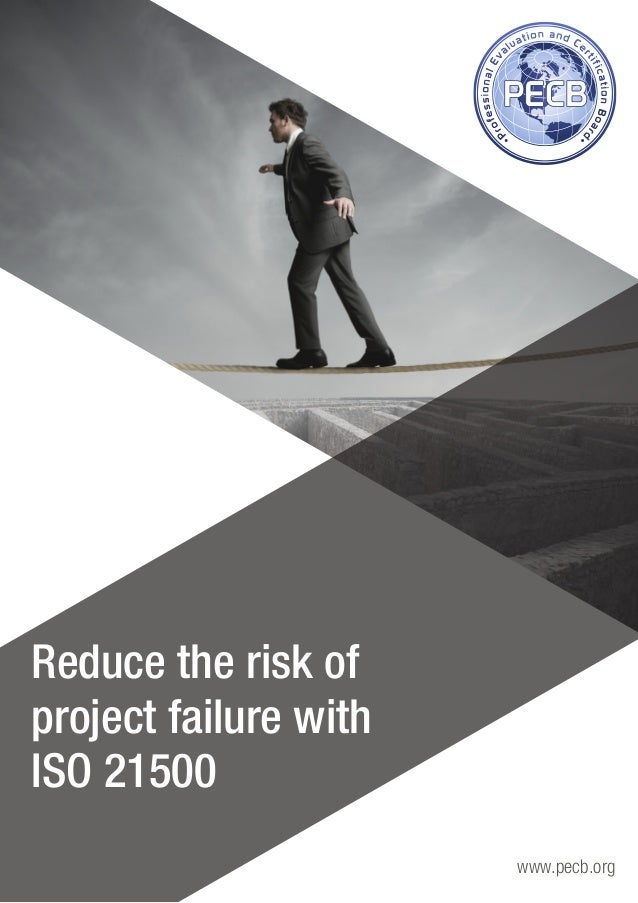 how to minimise the chance of project failing essay When a promising project doesn't deliver, chances are the problem wasn't the   projects differently, managers can reduce the likelihood that critical activities will .