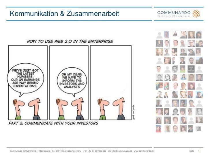 Kommunikation & Zusammenarbeit<br />1<br />