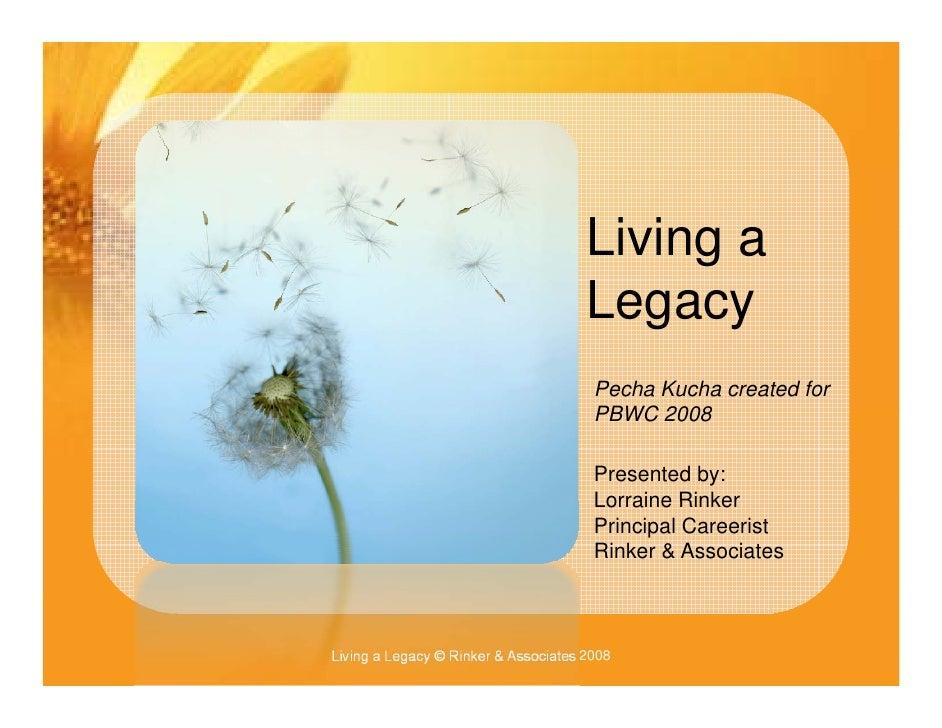 Li i a                                       Living                                       Legacy                          ...