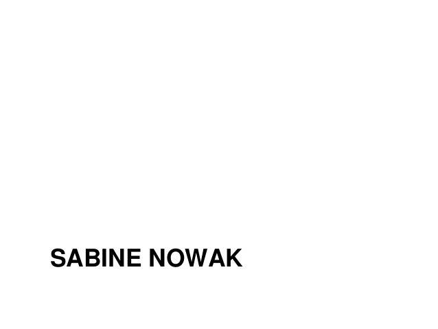 SABINE NOWAK