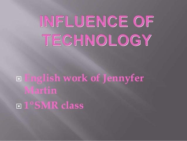  English work of JennyferMartin 1ºSMR class