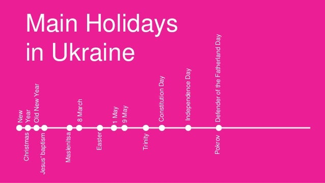 Ukrainian traditions and holidays
