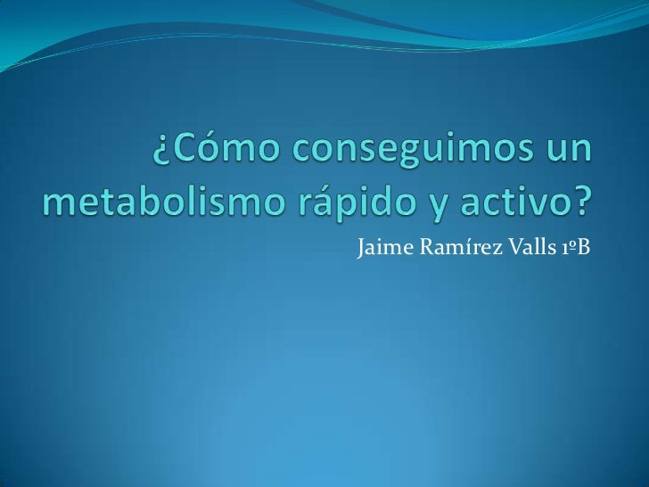 Jaime Ramírez Valls 1ºB