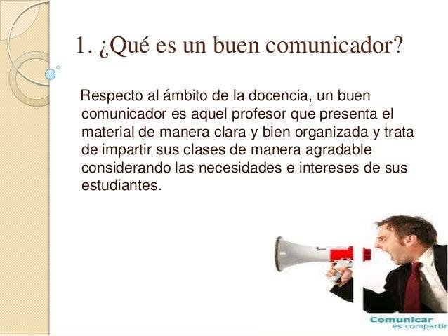 El docente como un bueno comunicador - Que es un spa ...