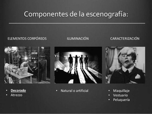 Decorado y escenograf a elementos visuales y pl sticos - Iluminacion cinematografica ...