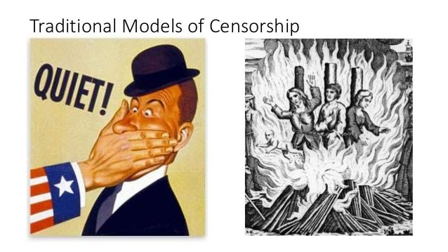 the idea of censorship in society Censorship is the control of the influx of information and ideas in a society both democratic and non-democratic countries use it with the explosion of communication technology, it has become all-pervasive.
