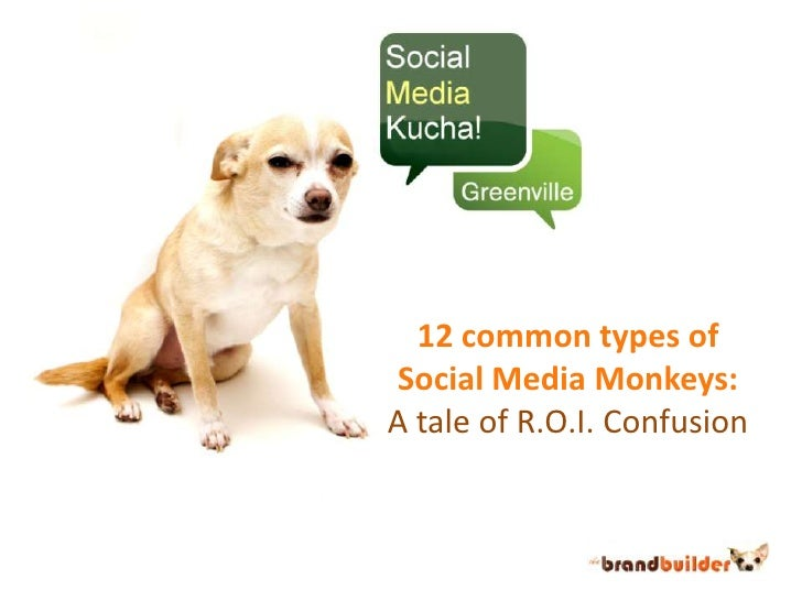 12 common types of Social Media Monkeys:<br />A tale of R.O.I. Confusion<br />