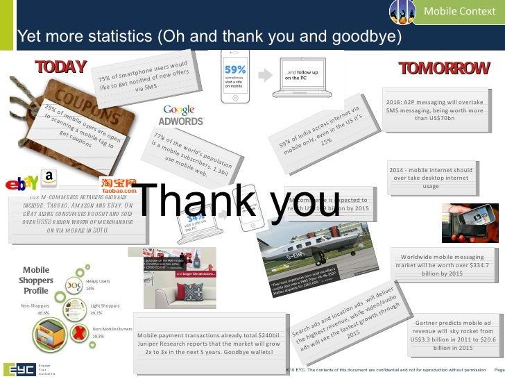 Yet more statistics (Oh and thank you and goodbye) <ul><li>Thank you </li></ul>© Copyright 2010 EYC. The contents of this ...