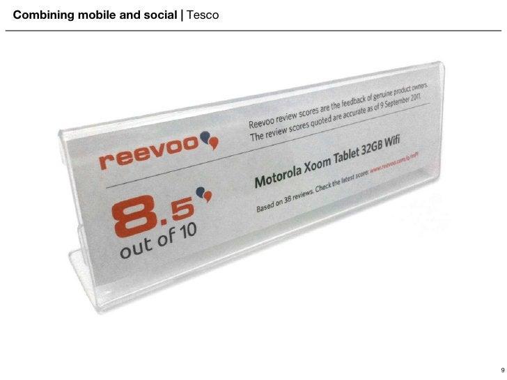 Combining mobile and social    Tesco 9
