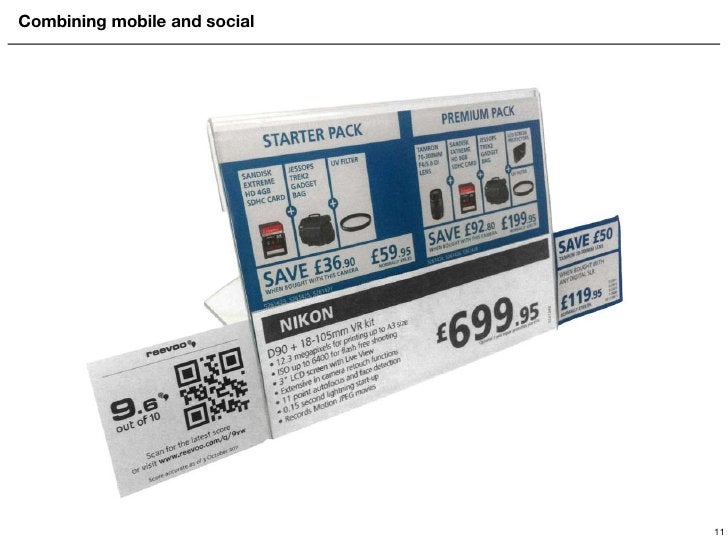 Combining mobile and social 11