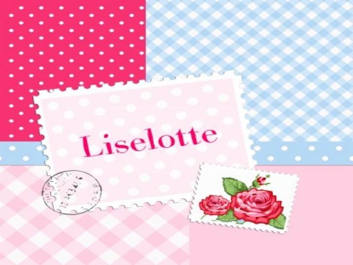 Pecha kucha - Liselotte