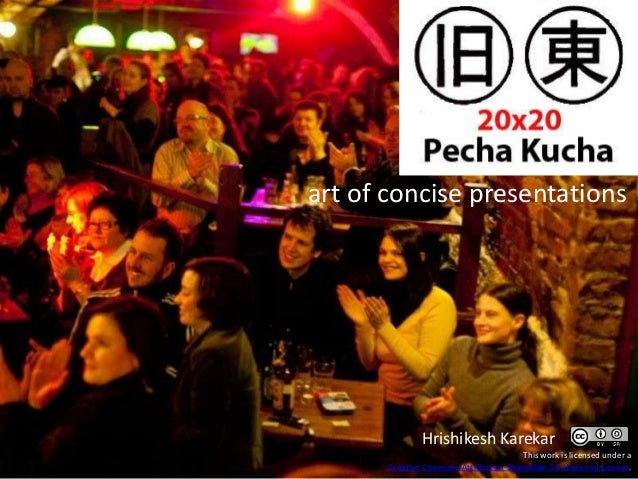 10 Tips for Pecha Kucha