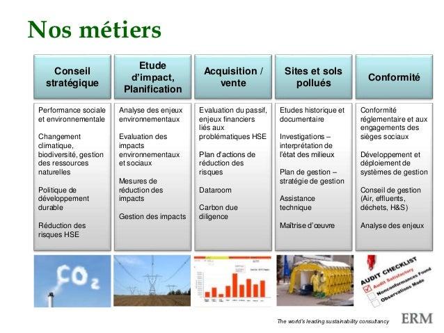 PECHAKUCHANos métiers Performance sociale et environnementale Changement climatique, biodiversité, gestion des ressources ...