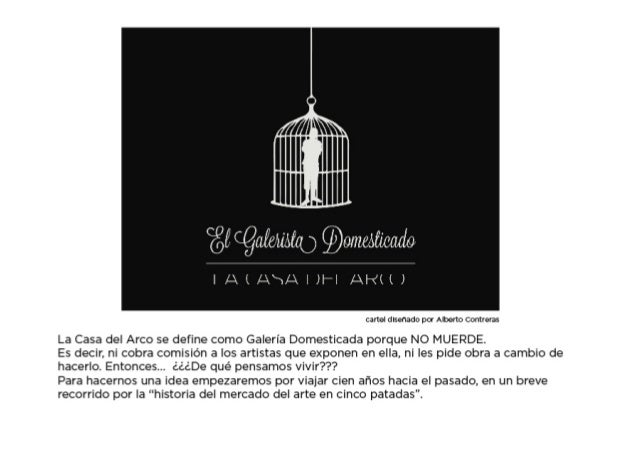 El Galerista Domesticado. Pecha Kucha Sevilla septiembre 2013