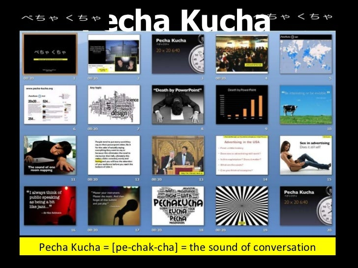 Pecha kucha slideshow for Pecha kucha powerpoint template