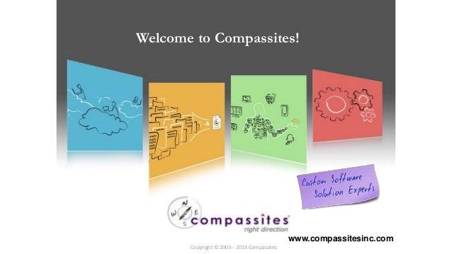 Welcome to Compassites!  Copyright © 2012  www.compassitesinc.com  Copyright © 2005 - 2013 Compassites