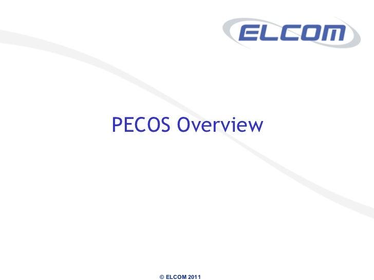 <ul><li>PECOS Overview </li></ul>