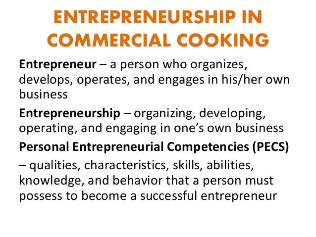 entrepreneurial competencies Entrepreneurial competency results in superior performance of a job competency has a direct bearing on human behaviour and performance therefore, entrepreneurial competencies are need to be developed and cultivated in a very systematic manner.