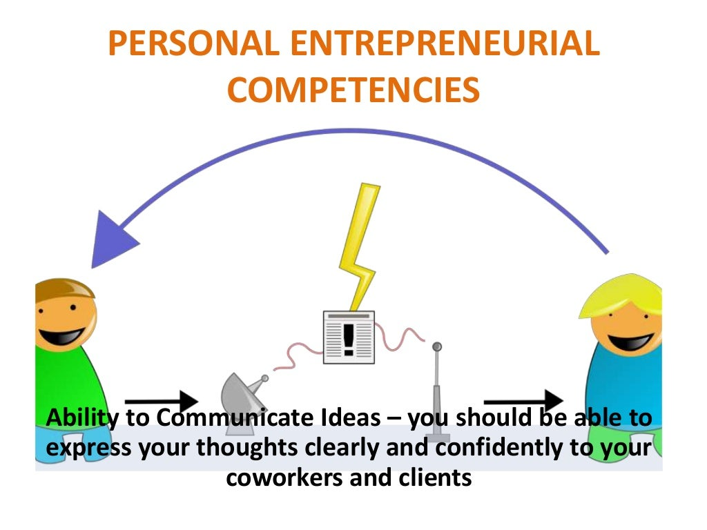 entrepreneurial competency Mind the critical role of an entrepreneur in the venture performance, the present research focuses on the concept of entrepreneurial competency without denying .
