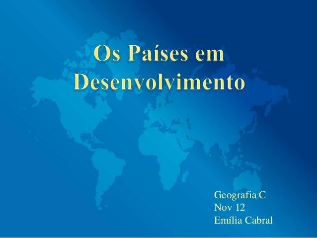 Geografia CNov 12Emília Cabral