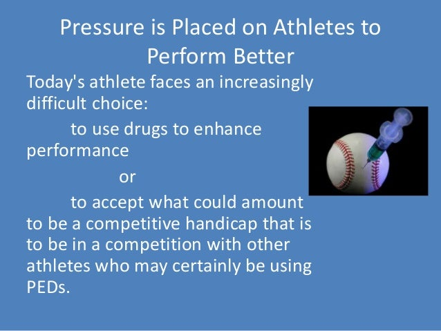 doping in sports the use of performance Though doping in sports is not new for athletes, in 2010, health research  the  most common substances used for performance enhancement.