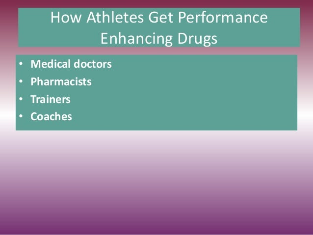 should the use of performance enhancing drugs in sports be legalized essay The primary reason why performance enhancing drugs (peds) are outlawed in professional sports is that they give users an unfair advantage over the rest of the field various professional sports leagues have attempted to set a level playing field by testing for drug use and suspending those found guilty.