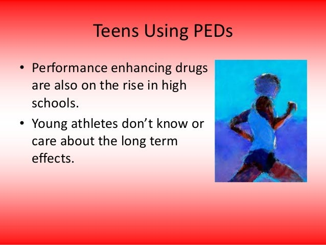 analysis of performance enhancing drugs Sport participation and adolescent use of performance enhancing drugs: evidence from the yrbss brad r humphreys university of alberta department of economics.