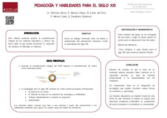 Tendencias Contemporáneas de la Educación Daniel Rodríguez Arenas INTRODUCCIÓN Este informe pretende abordar la transforma...