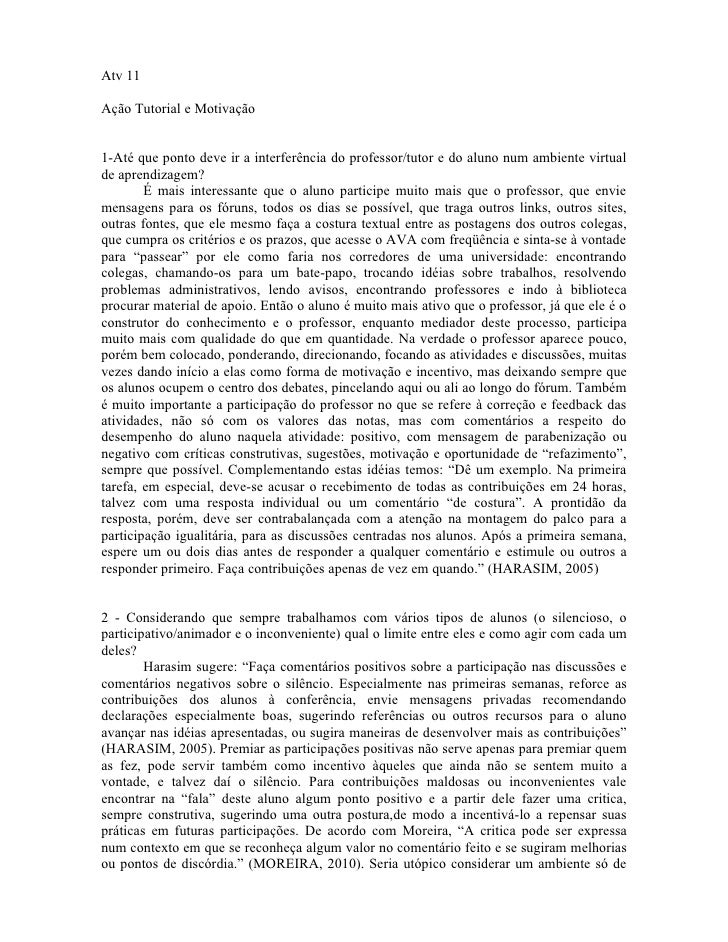 Pedagogia   atv 11