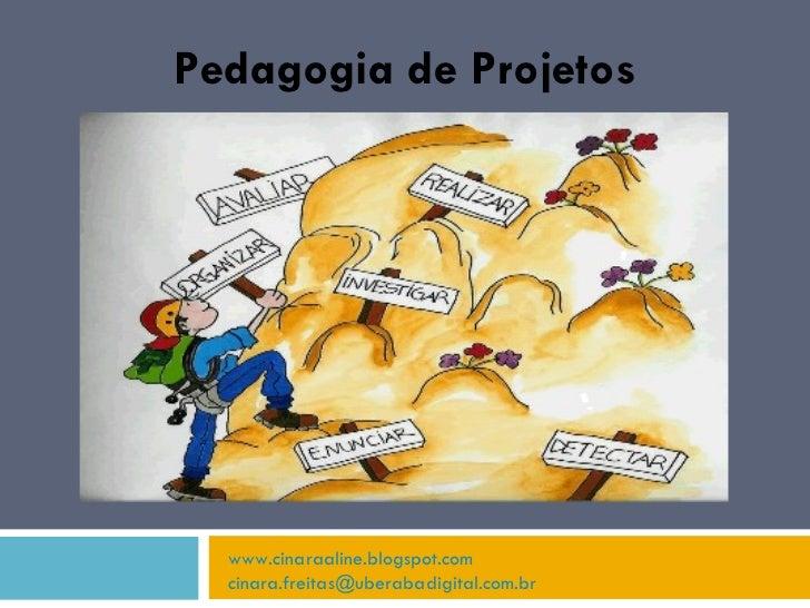 Pedagogia de Projetos www.cinaraaline.blogspot.com [email_address]