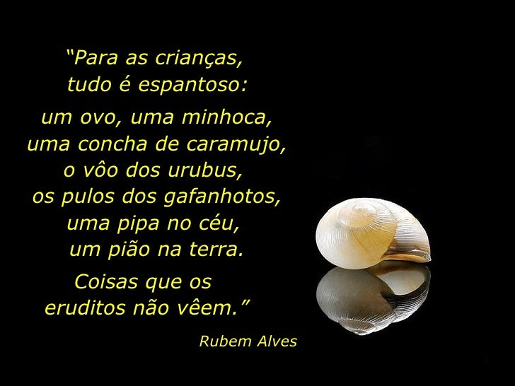 Pedagogia Do Olhar Rubem Alves