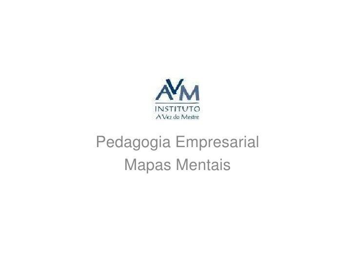 Pedagogia Empresarial<br />Mapas Mentais<br />