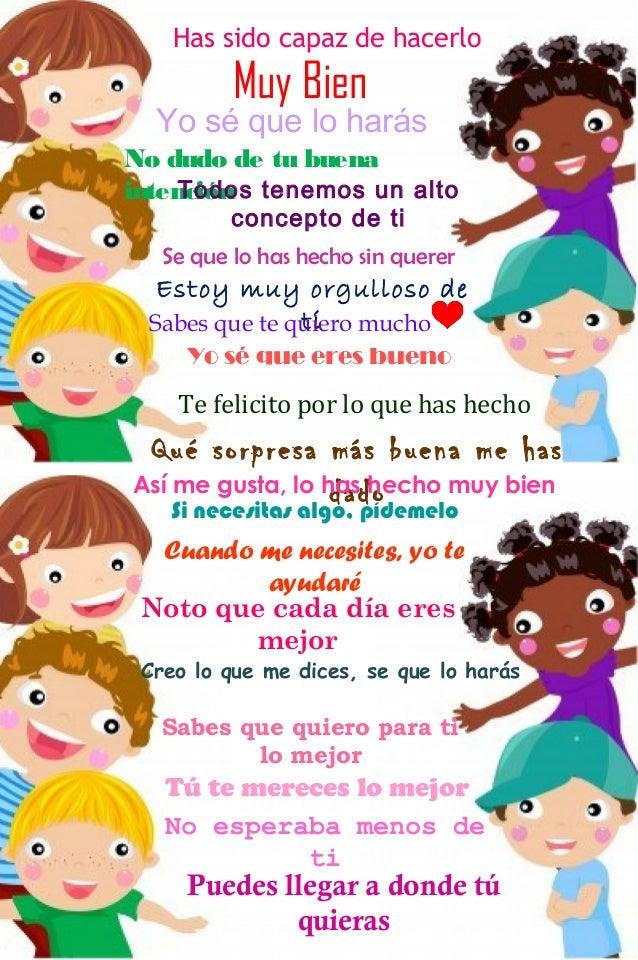 Frases Motivacionales Para Niños