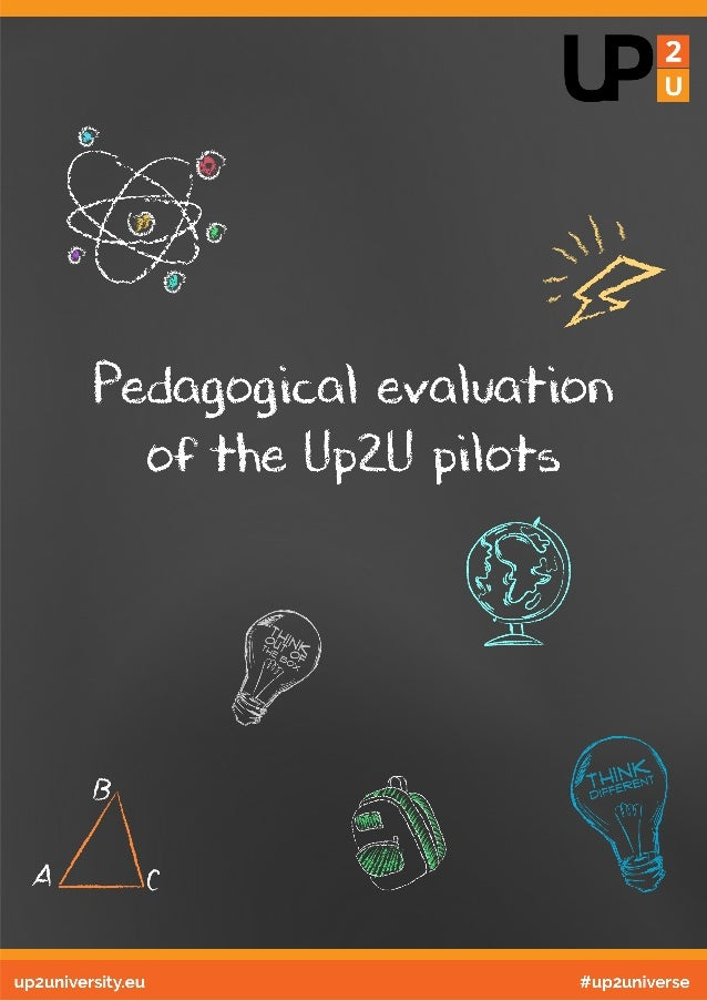 Up2U Pedagogical evaluation