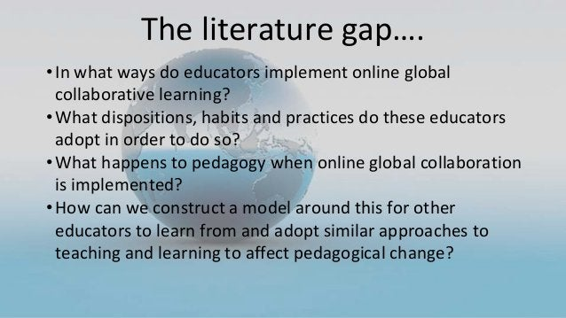 •In what ways do educators implement online global collaborative learning? •What dispositions, habits and practices do the...