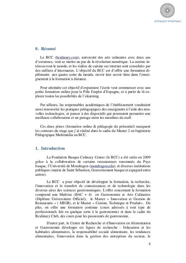 Pedagogies numeriques - Formation cuisine a distance ...