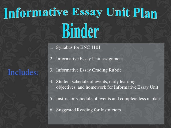 presenting information essay These can be eliminated by practising on topics in general use,as the essay requires gathering and organising information for presenting.
