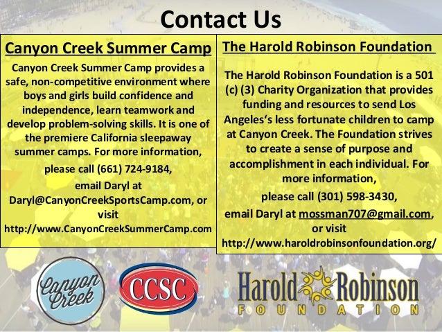 Contact Us Canyon Creek Summer Camp Canyon Creek Summer Camp provides a safe, non-competitive environment where boys and g...