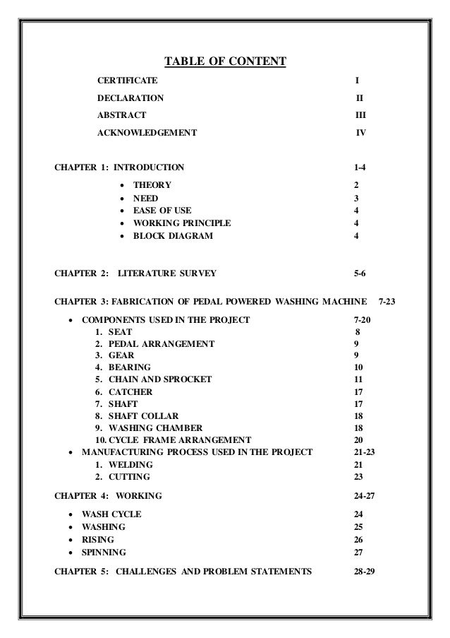 TABLE OF CONTENT CERTIFICATE I DECLARATION II ABSTRACT III ACKNOWLEDGEMENT IV CHAPTER 1: INTRODUCTION 1-4  THEORY 2  NEE...