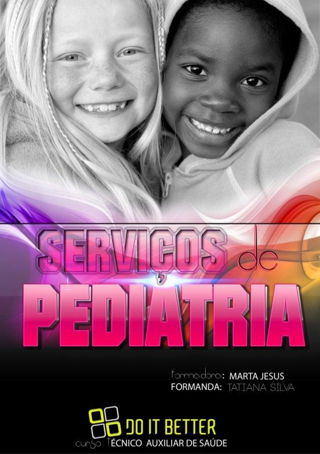 Trabalho de Tatiana Silva - Pediatria Page 1