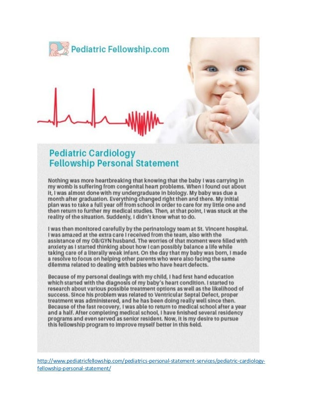 pediatric anesthesia fellowship personal statement Pediatrics: residency to complete training with a fellowship in pediatric critical care medicine and/or pediatric anesthesiology personal statement.