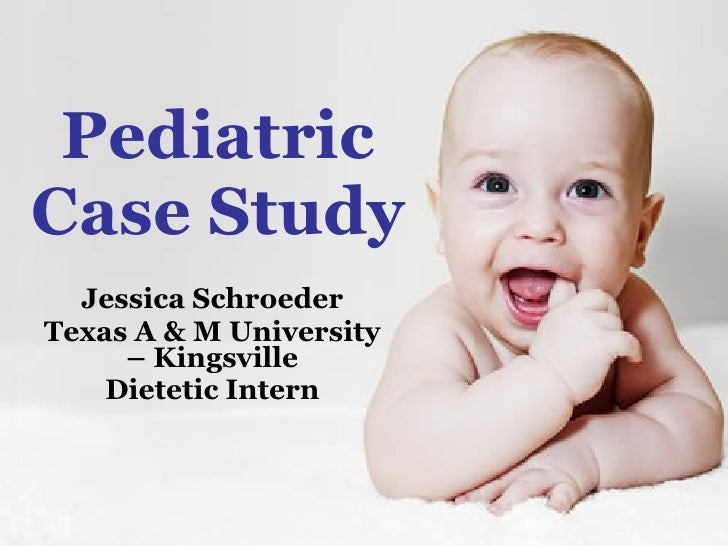 Pediatrics case study