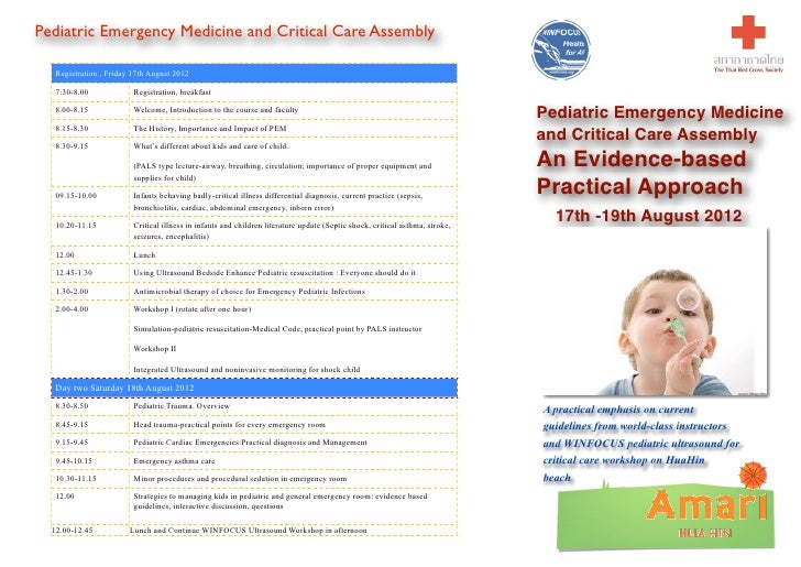 Pediatric Emergency Medicine and Critical Care Assembly