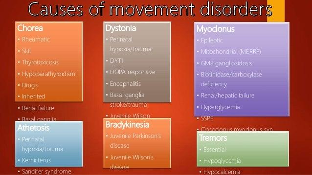 Pediatric movement disorders