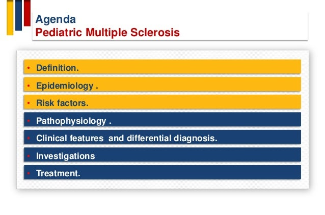 Pediatric multiple sclerosis