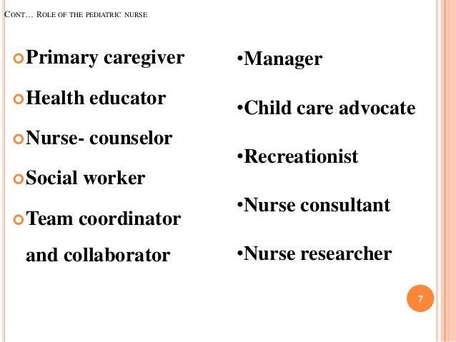 Pediatric nursing...ppt unit i