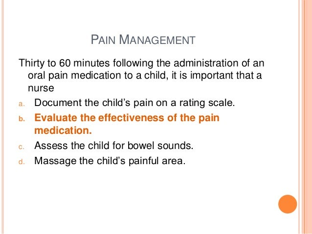 article critique pain management in pediatrics Original article from the new england journal of medicine — a critique of the parameters used in the evaluation of acid-base disorders .