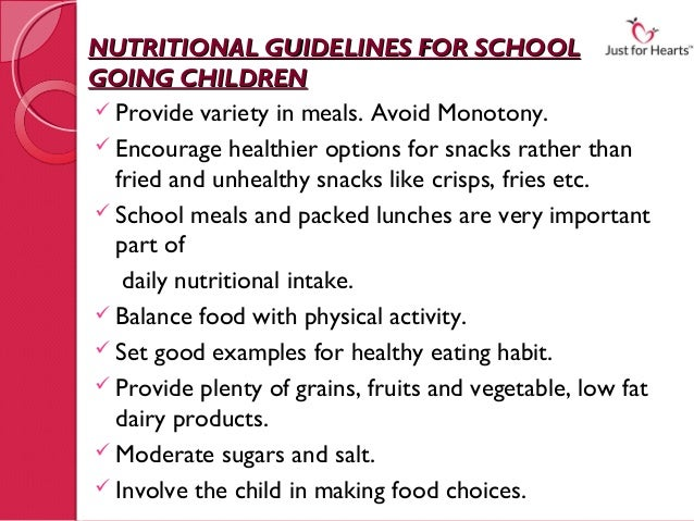 nutritional guidelines for infants and toddlers essay It's better for babies - nuclear techniques help guide global efforts to  as  opposed to formula-fed children a person's nutritional status from.