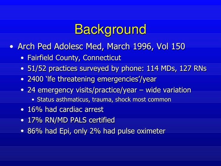Pediatric Office Emergencies Slide 3